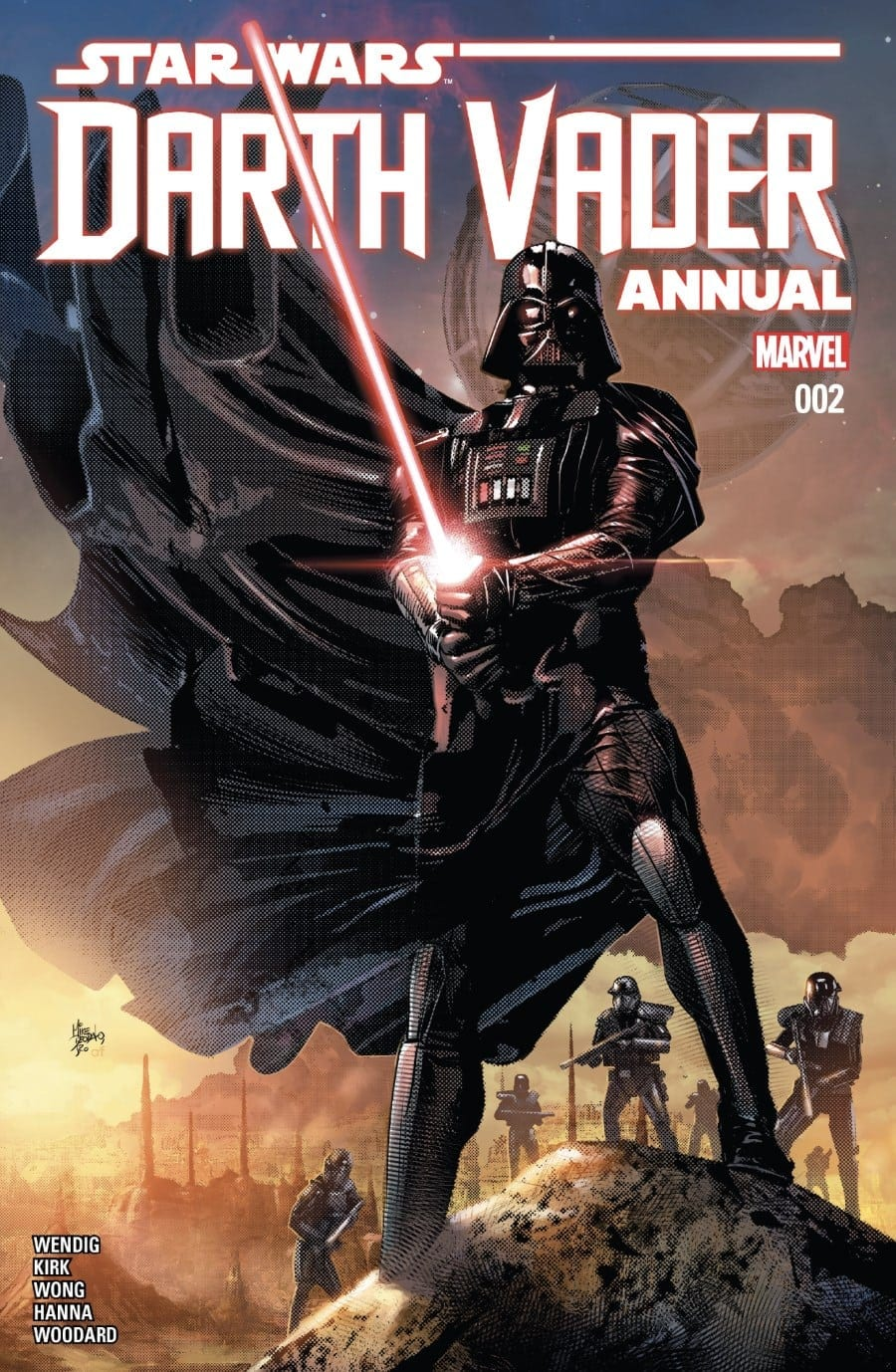 Darth Vader Annual #2 Cover