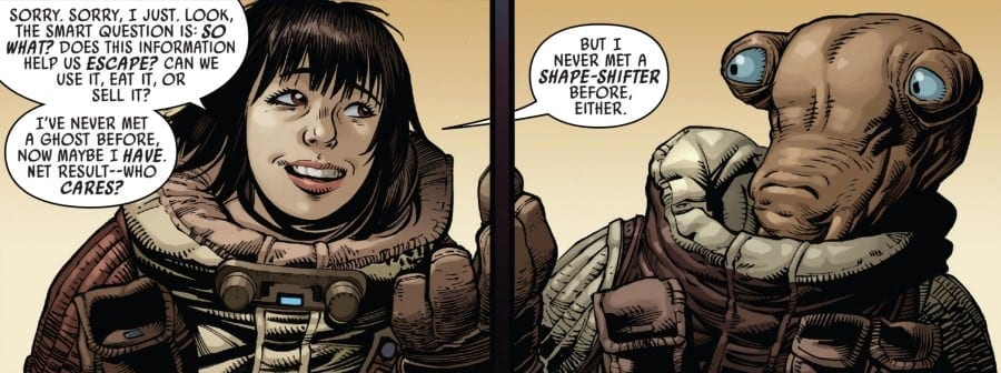 Doctor Aphra #21 Lopset and Aphra