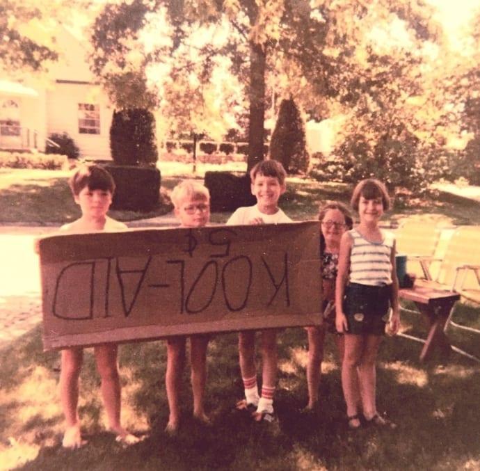 TechnoRetro Kids Kool-Aid Stand (Late 1970s)