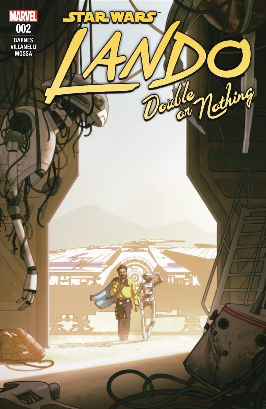 Lando: Double or Nothing Part II Cover