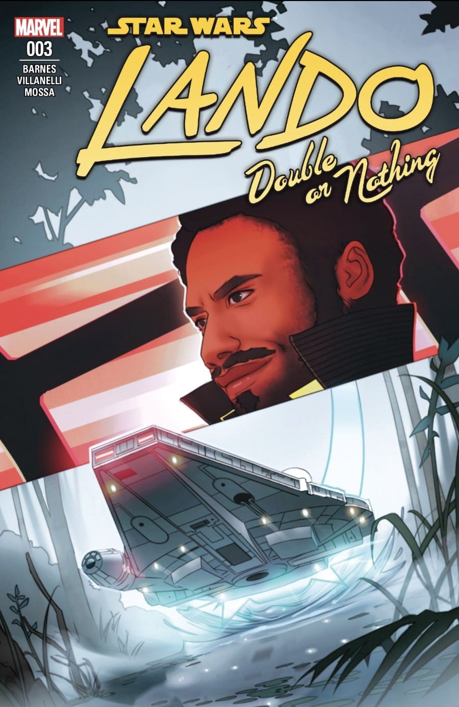 Lando: Double or Nothing Part III Cover