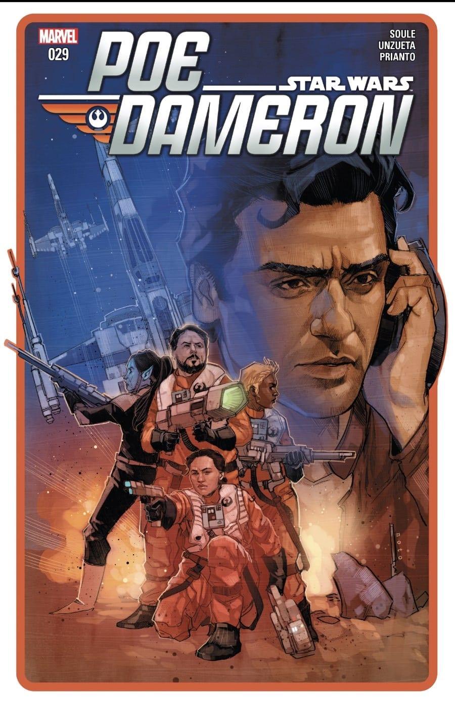 Poe Dameron #29 Cover