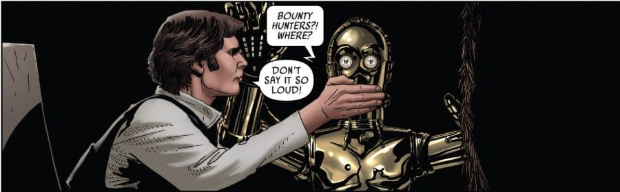 Star Wars #50 - Han and Threepio