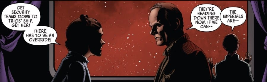 Star Wars #50 Leia and Draven