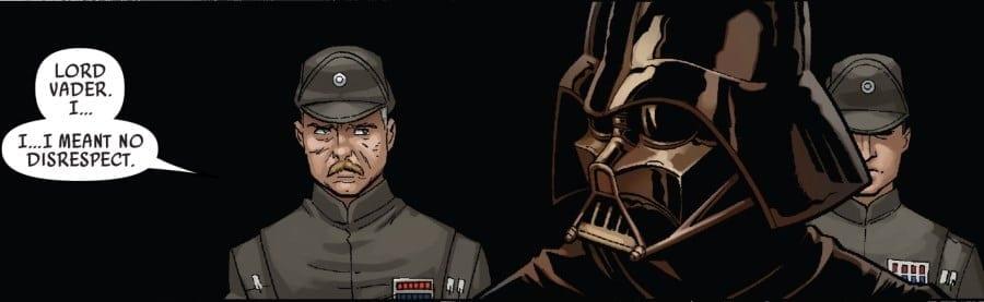 Darth Vader #50 Admiral Ozzel