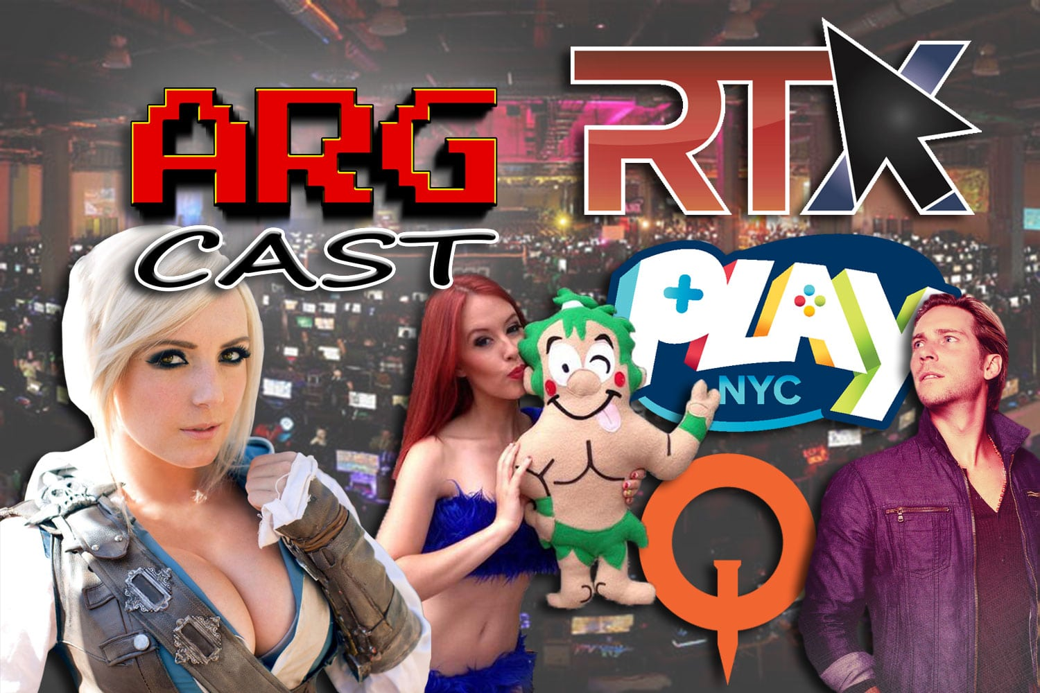 ARGcast #125: RTX, Play NYC, and QuakeCon 2018 Interviews!