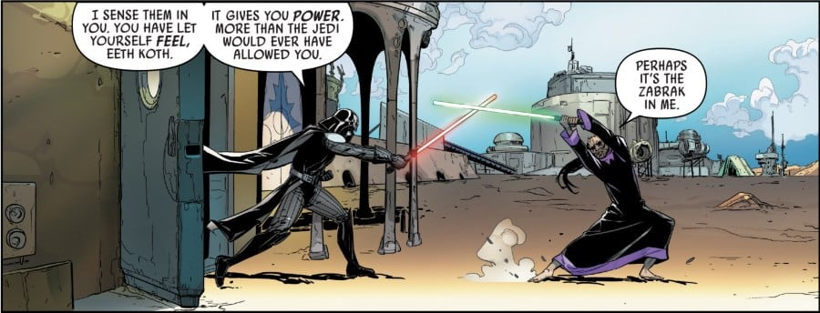 Darth Vader #19 Fortress Vader Part I - Vader vs Koth
