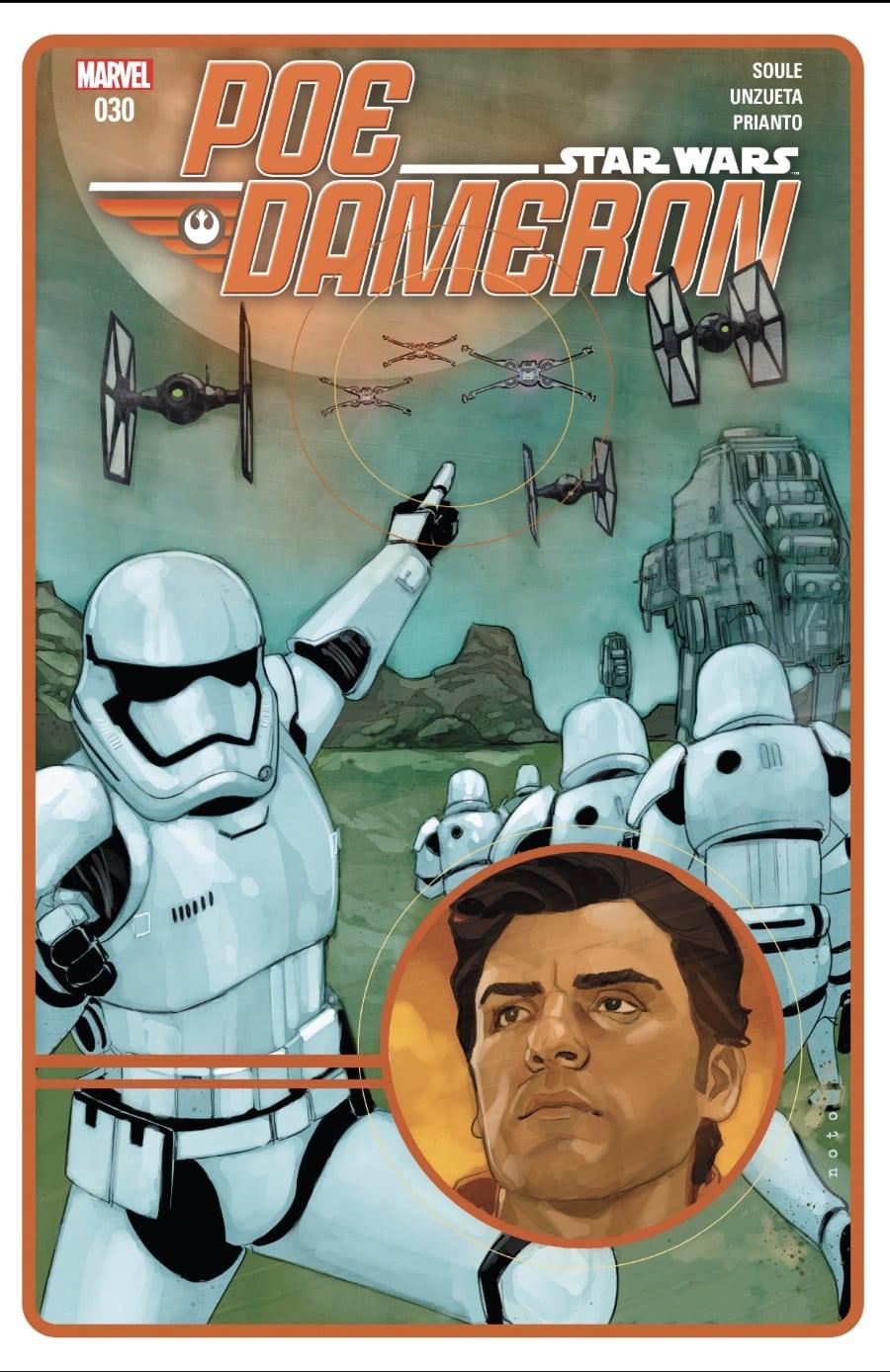 Poe Dameron #30 Cover