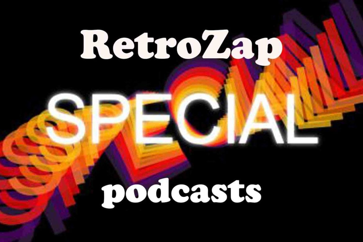 RetroZap Special Podcasts Banner