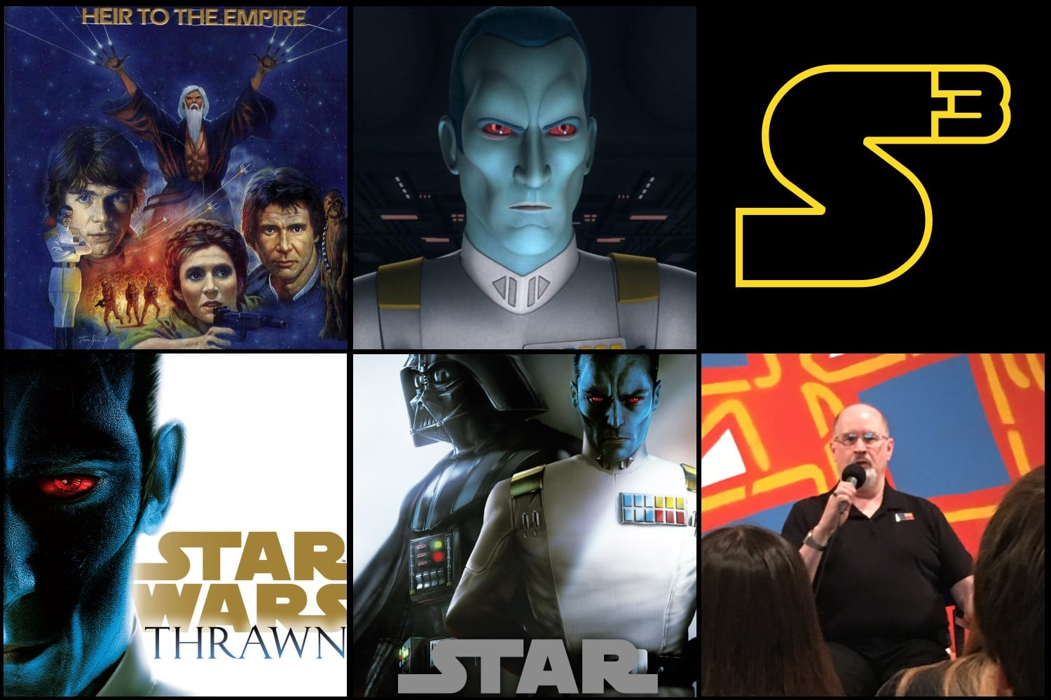 Starships, Sabers, and Scoundrels Episode 62.1 - Timothy Zahn at Interabang Books