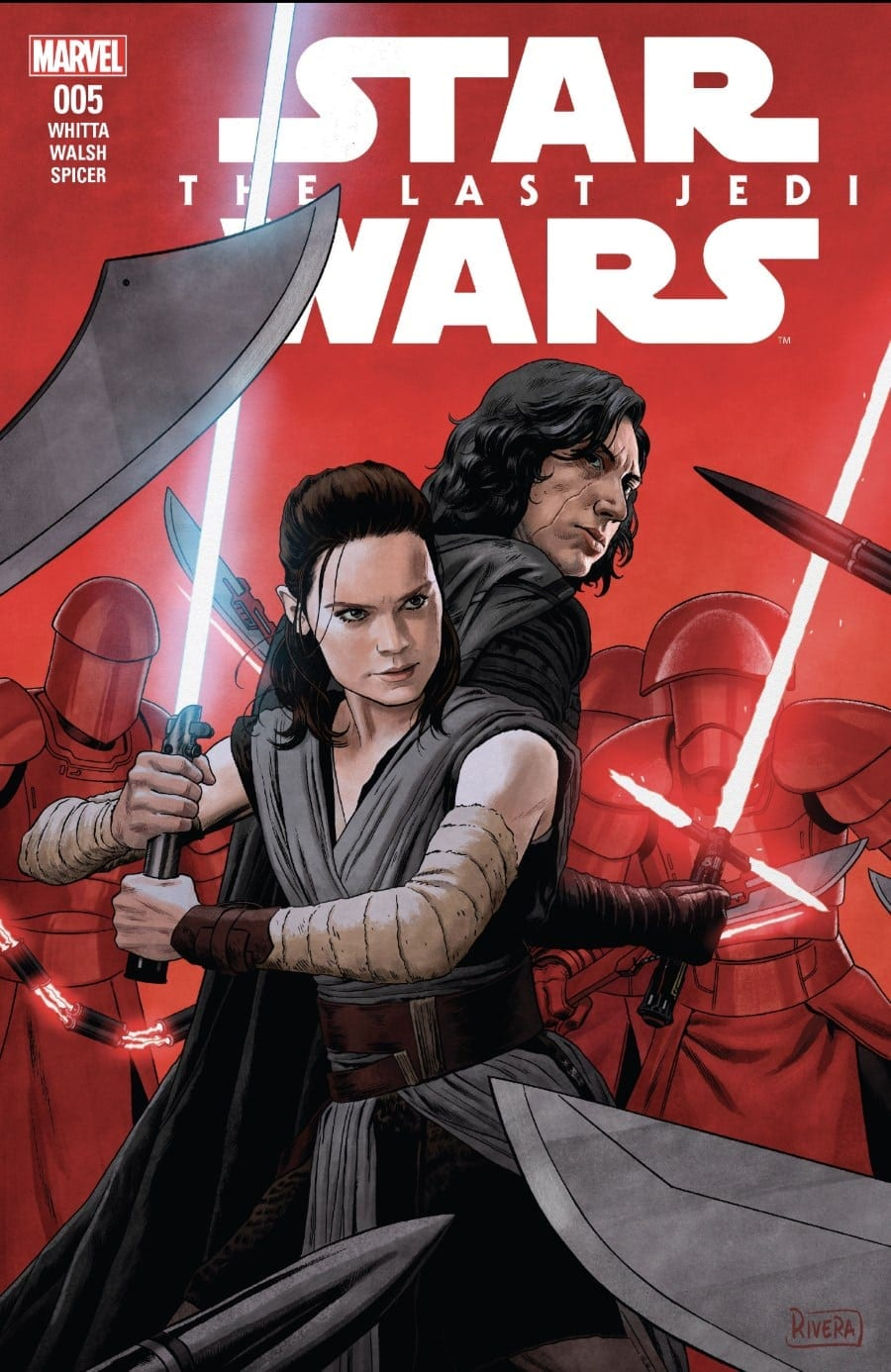 The Last Jedi #5 Cover