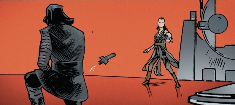 The Last Jedi #5 - Rey and Kylo's lightsaber