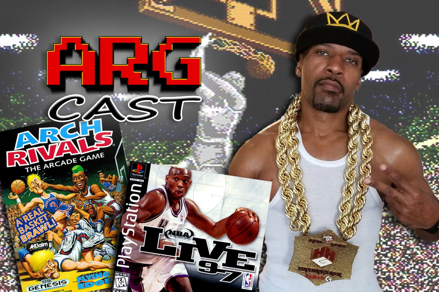 ARGcast #128: Basketball Retro Games with HipHopGamer
