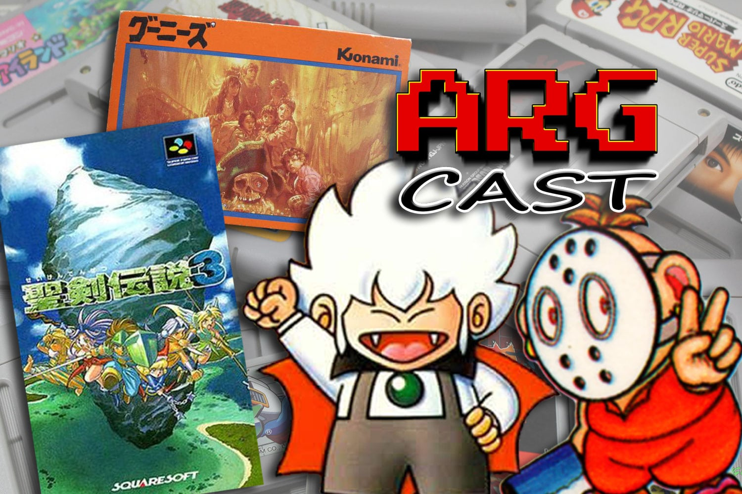 ARGcast #129: Famicom and Super Famicom Games with Andre Tipton