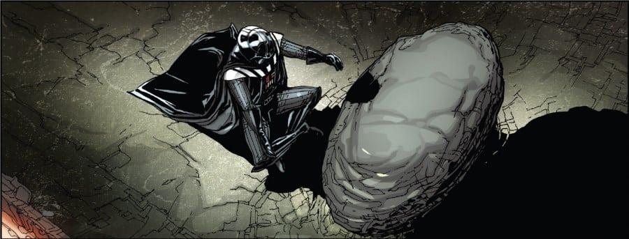 Darth Vader #21 - Fortress Vader Part III - Vader meditates