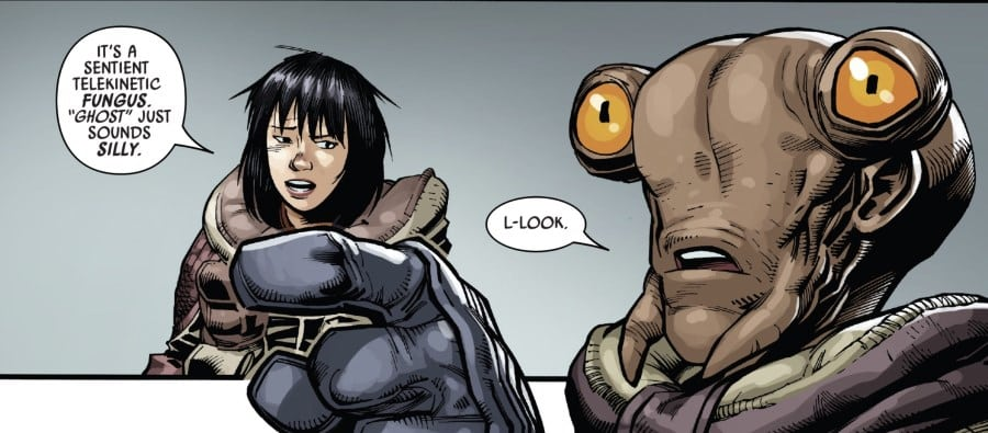 Doctor Aphra #23 - Ghost just sounds silly.