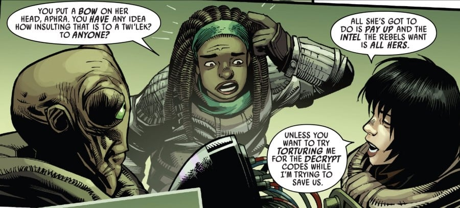 Doctor Aphra #23 - Sana and Aphra
