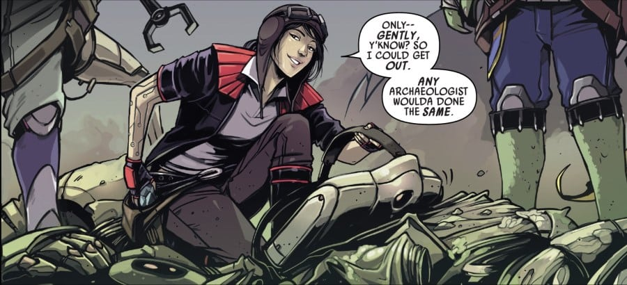Doctor Aphra Annual #2 - Aphra emerges