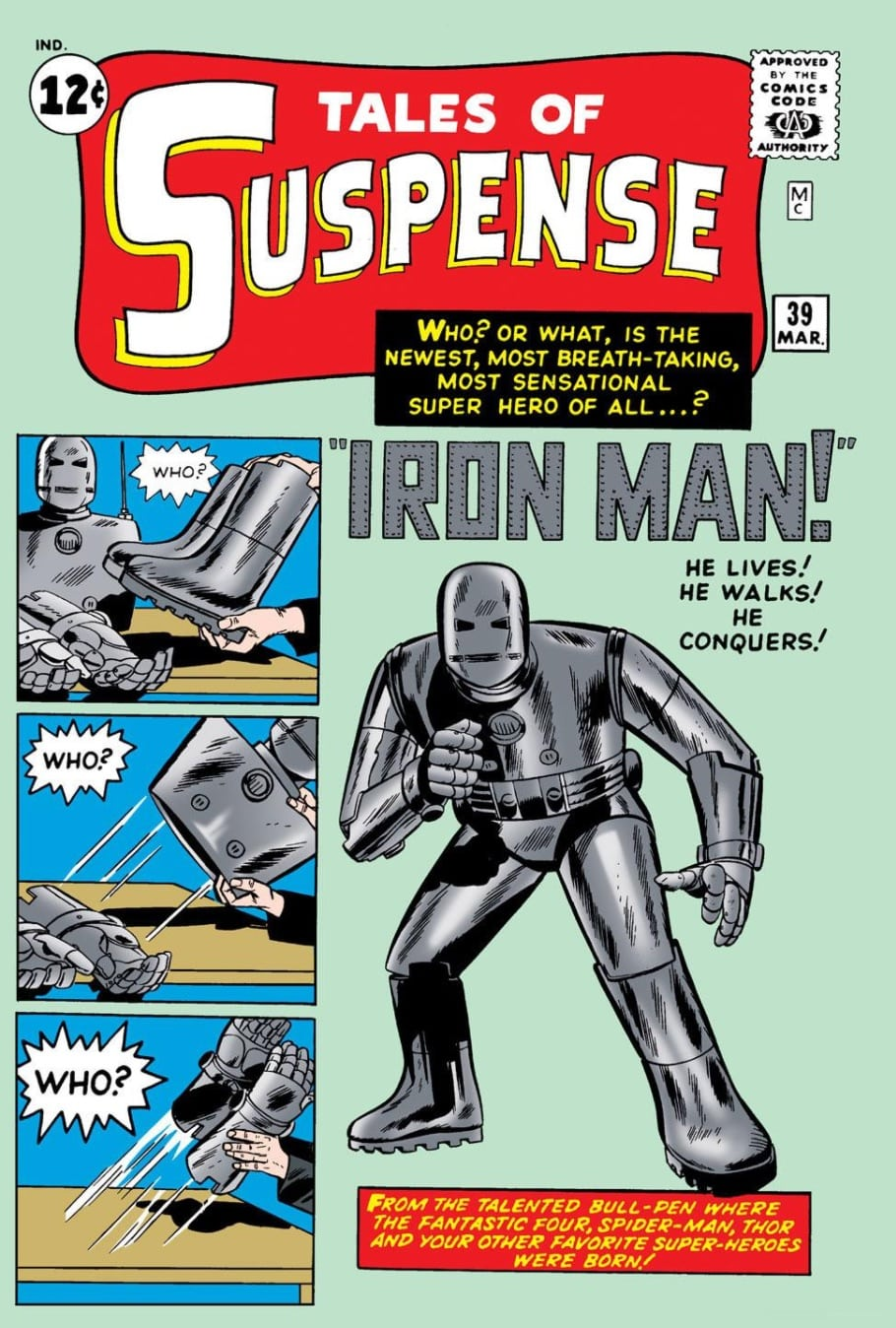 Marvel Comics of 1963 Tales of Suspense