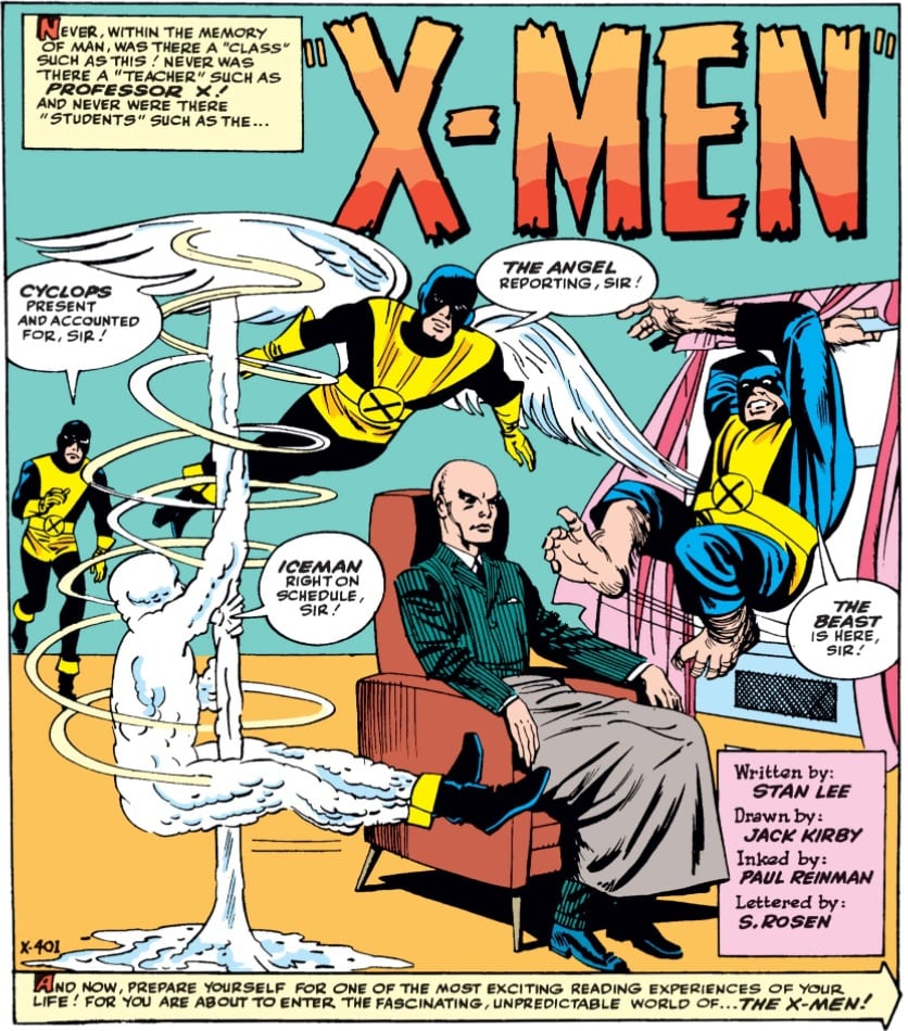 Marvel Comics of 1963 X-Men