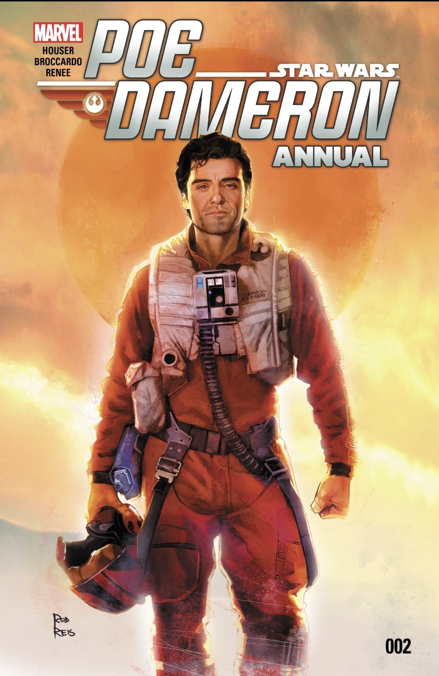 Poe Dameron Annual #2 Cover