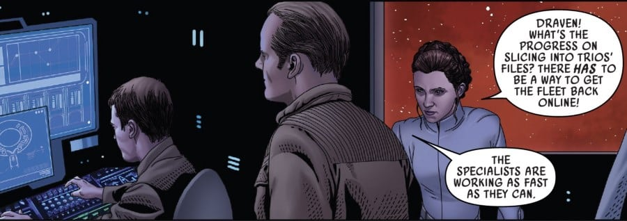 Star Wars #53 - General Draven and Leia