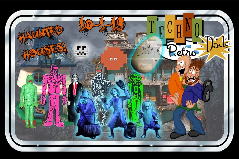 Haunted House TechnoRetro Dads RetroZap