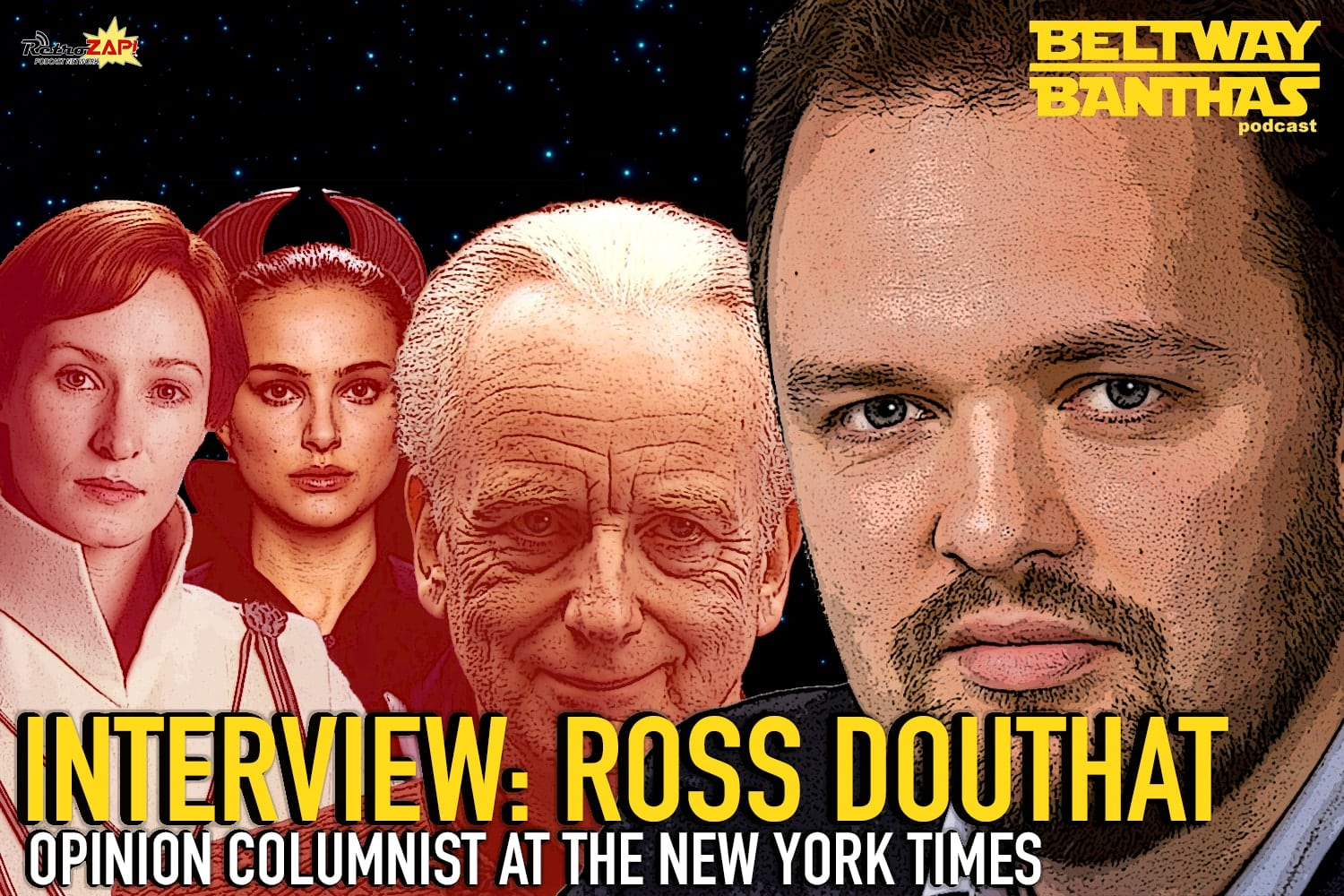 Bethany Banthas Interview: Ross Douthat of The New York Times