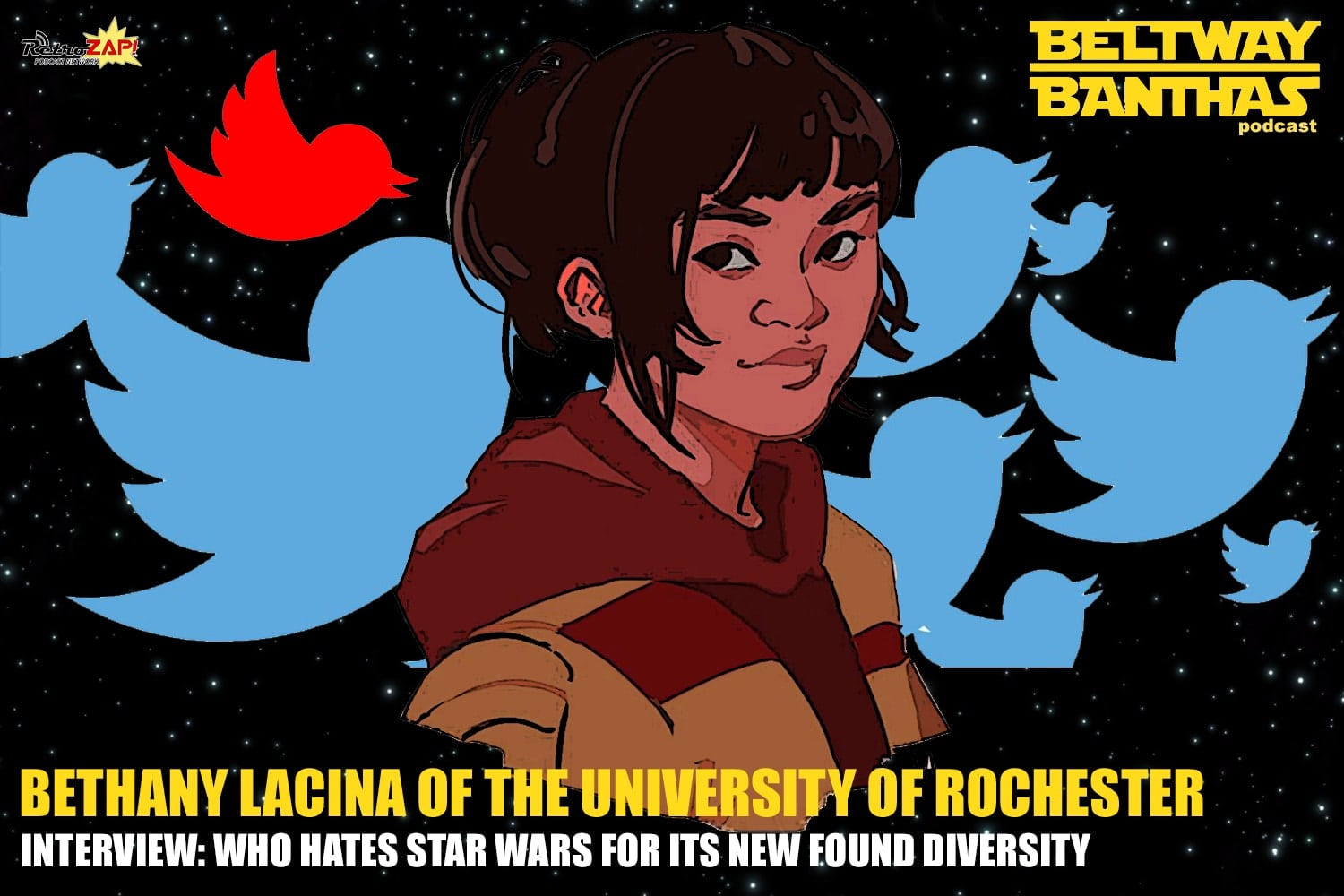 Bethany Lacina Interview: Who Hates Star Wars For Its New Found Diversity?