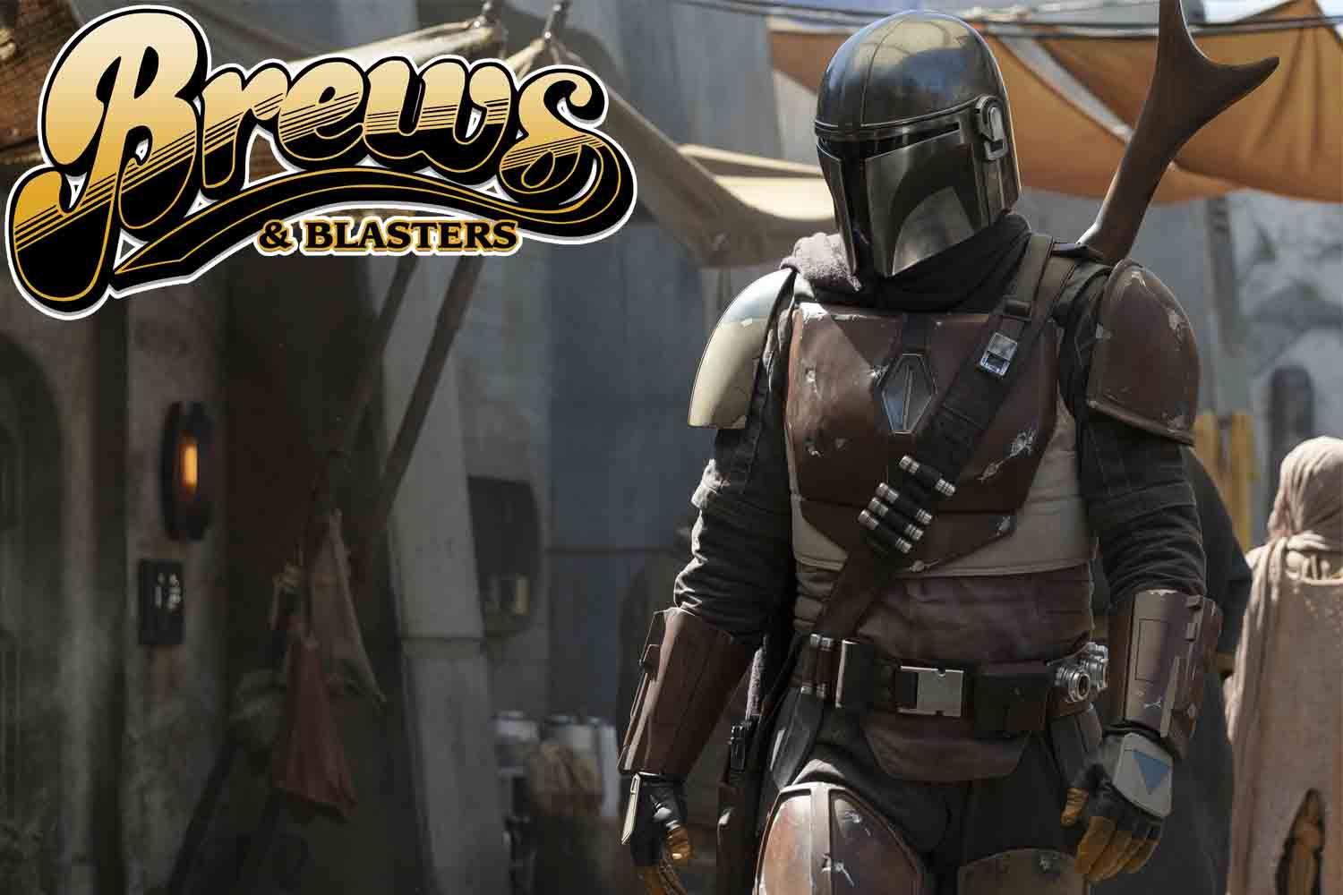 So, Chris and Joe get into the Brews and Blasters studio and Jon Favreau drops a mammajamma of an announcement with THE MANDALORIAN!