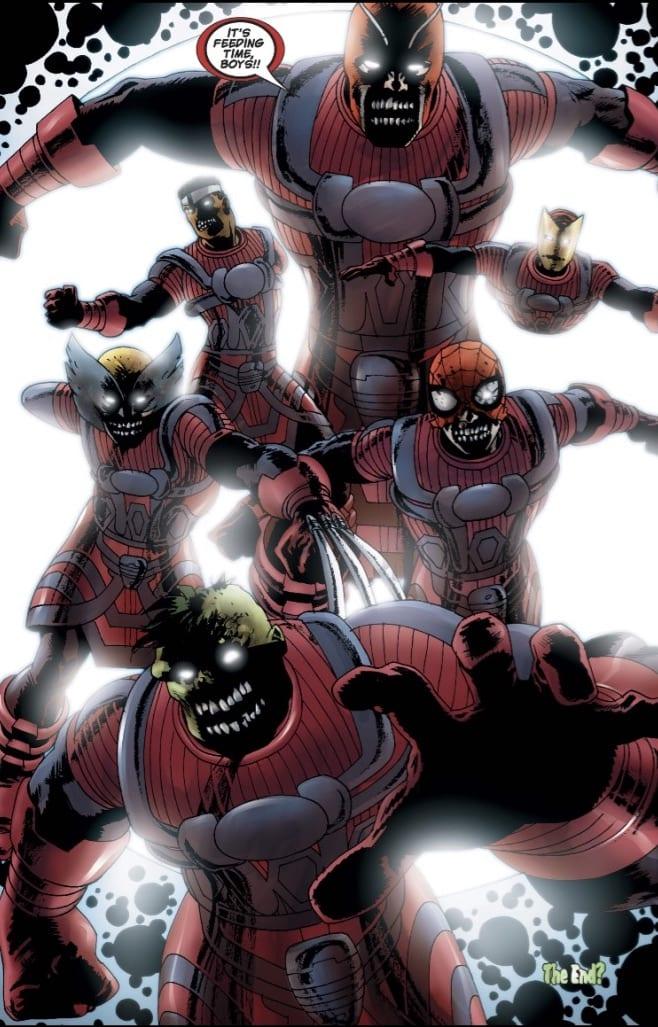 Marvel Zombies Galacti