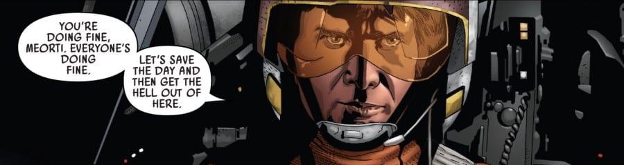 Star Wars #55 Han in an X-Wing
