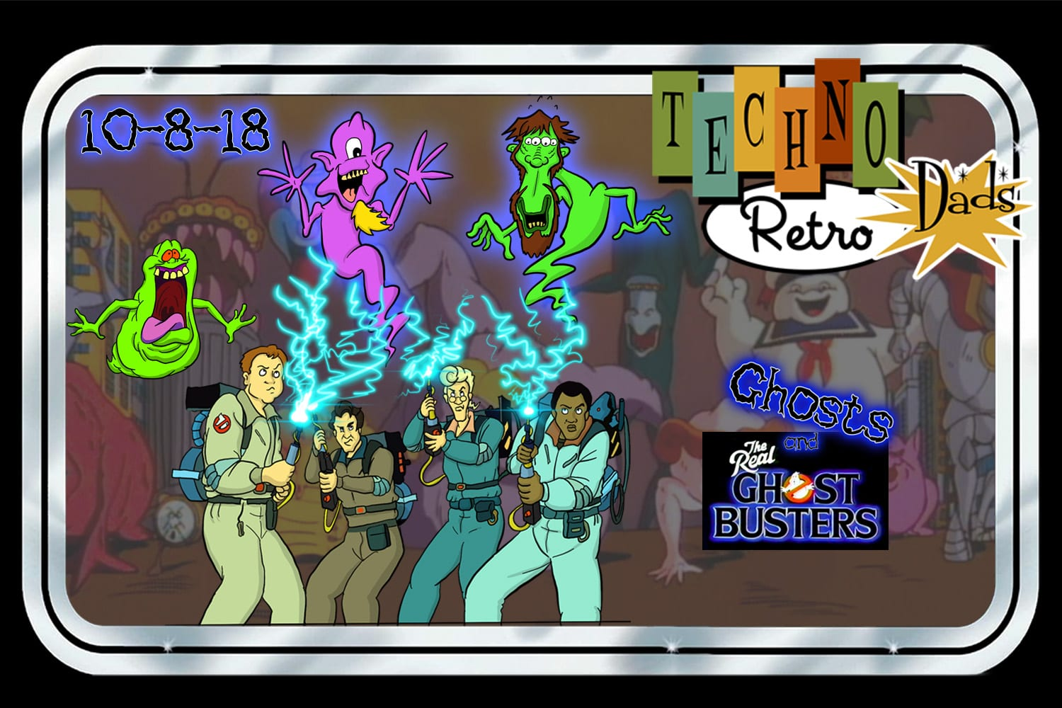 ghosts, Ghostbusters, The Real Ghostbusters