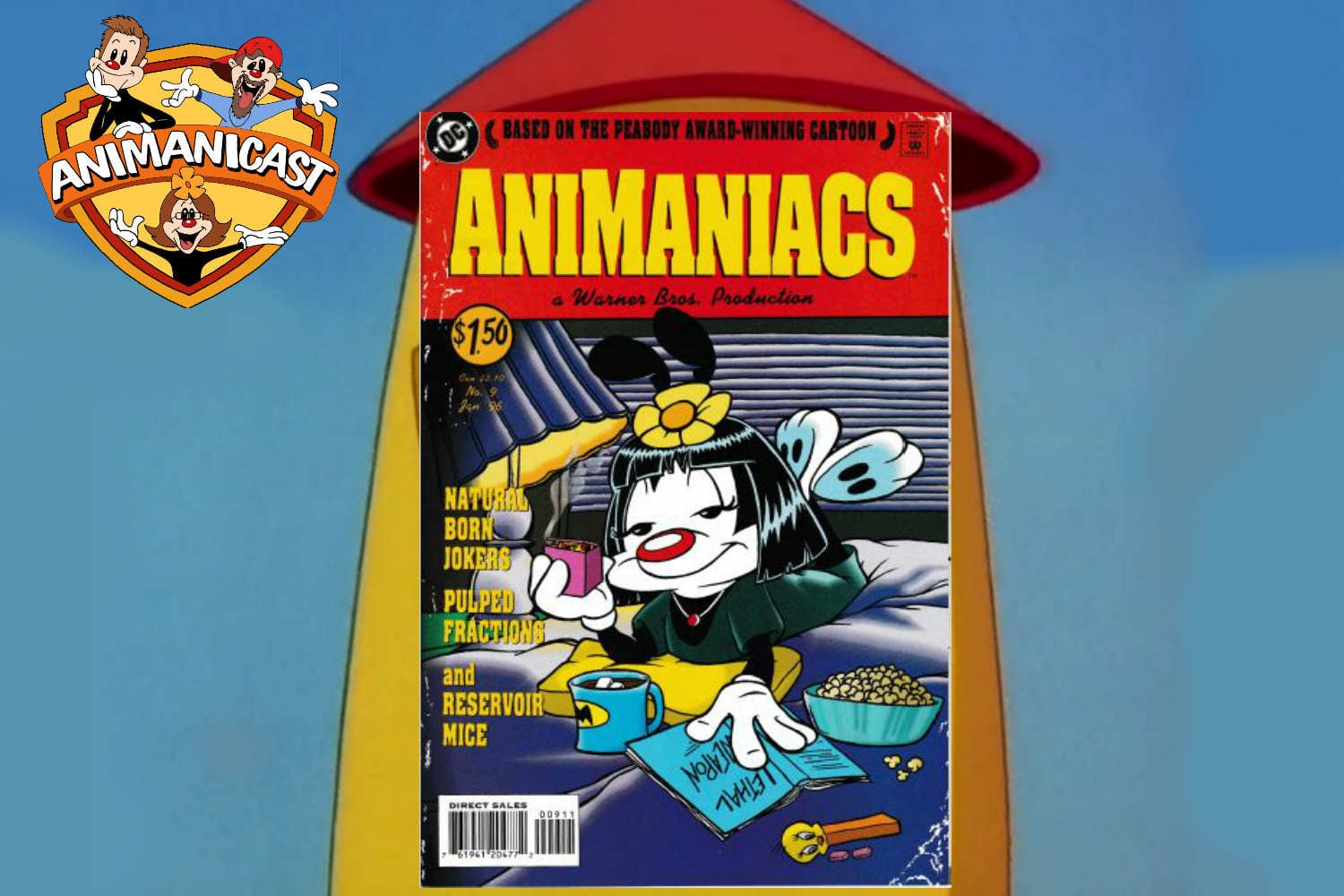 """Animanicast: Discussing Animaniacs Comic Issue #9 """"Pulped Fractions"""""""