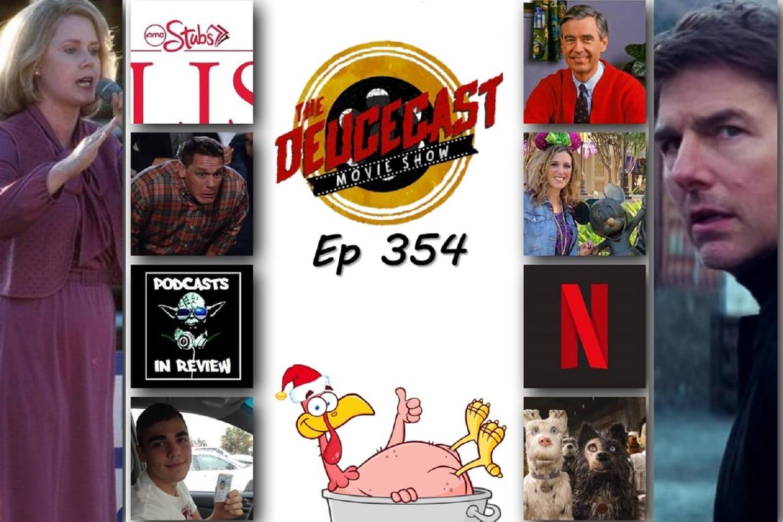 The Deucecast Movie Show 354: DeuceGiving 2018