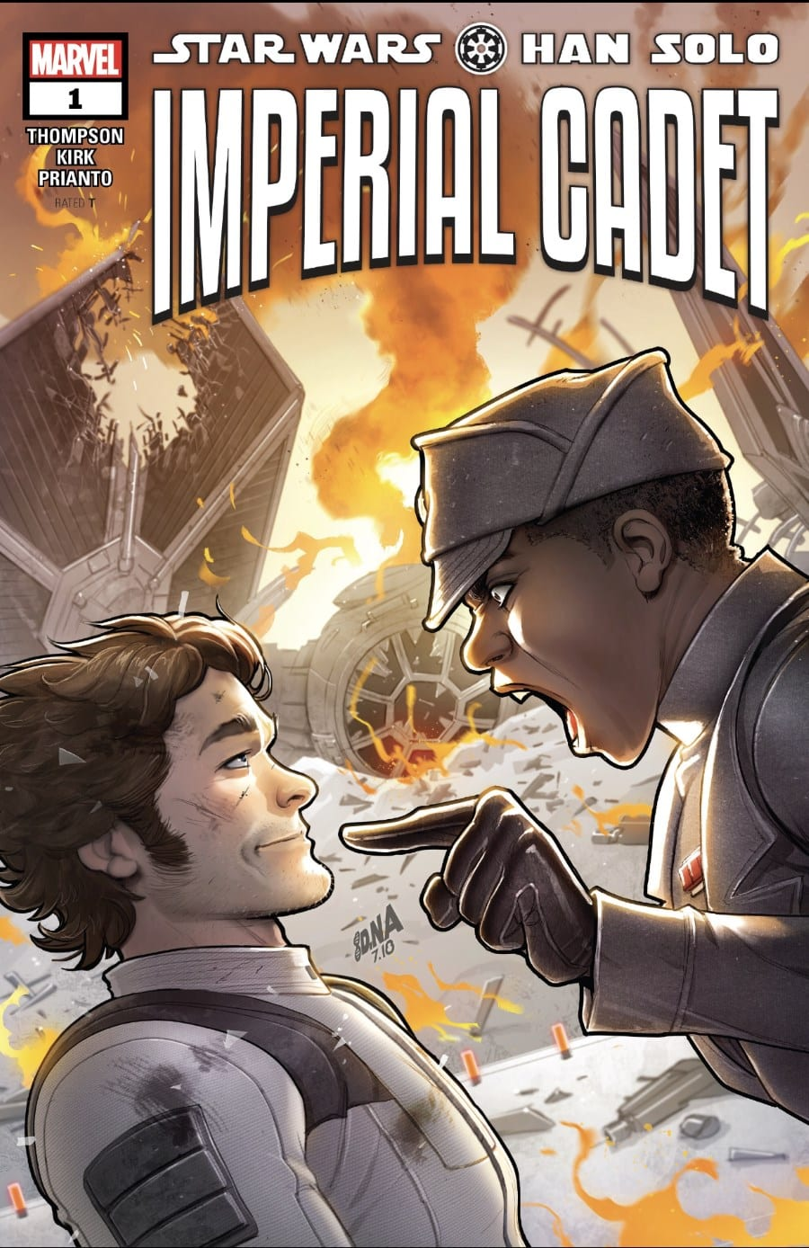 Han Solo: Imperial Cadet #1 Cover