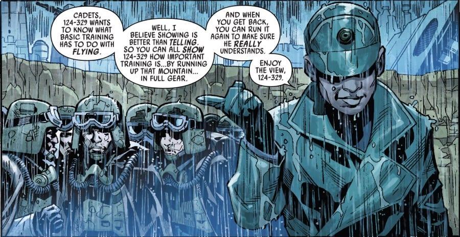 Han Solo Imperial Cadet #1 - Training Officer