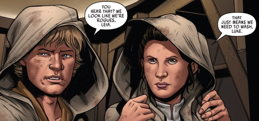 Star Wars #56 - The Escape Part I - Luke and Leia as Rogues