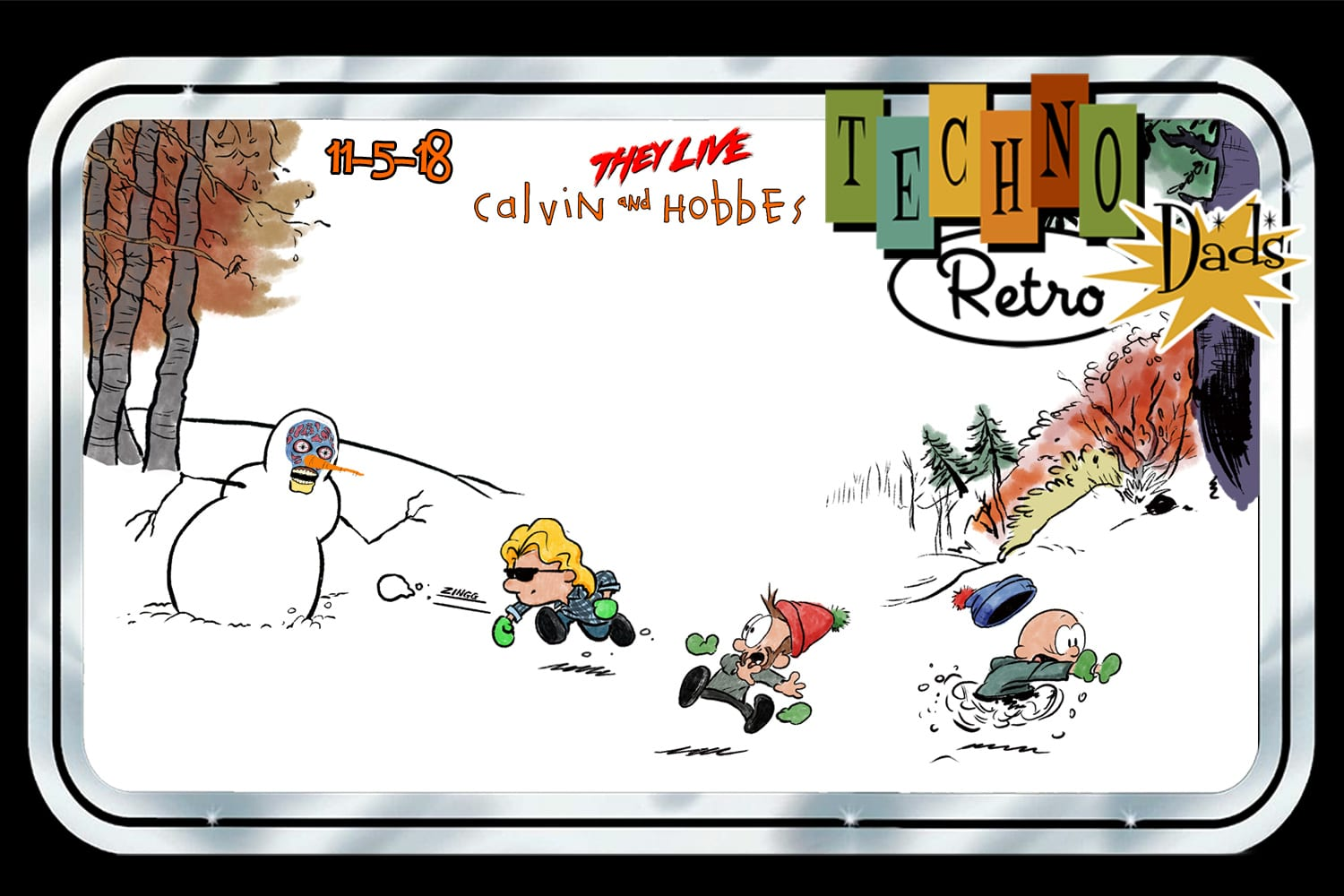 Calvin and Hobbes, They Live, Snowmen