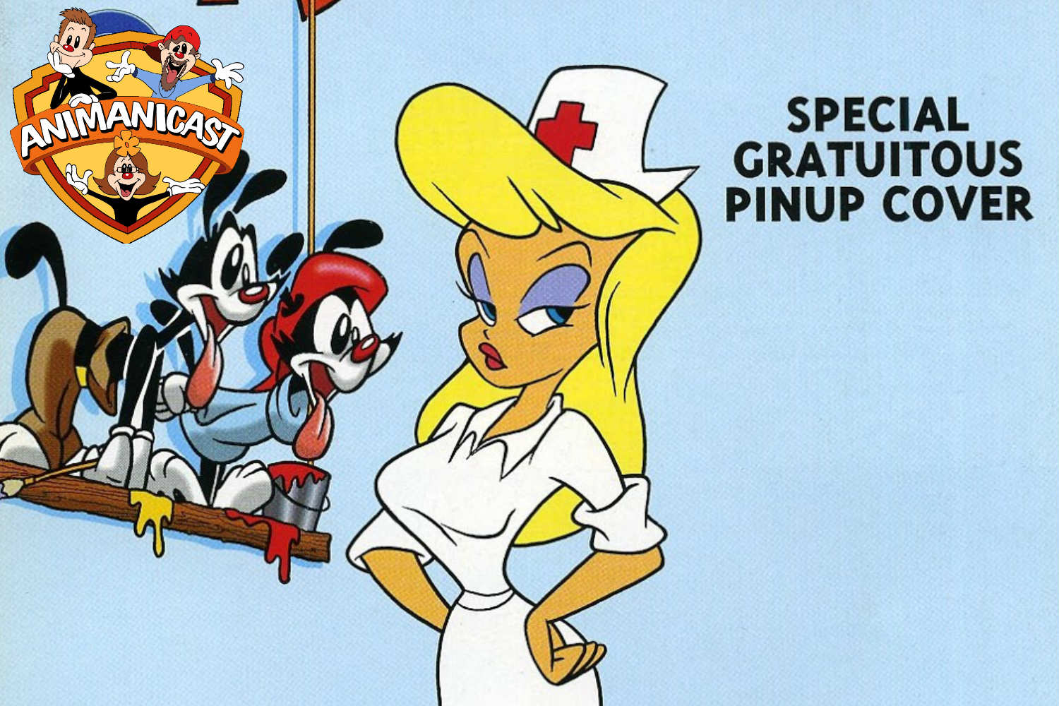 """Animanicast: Discussing Animaniacs Comic Issue #10 """"A Comic Book is Born"""""""