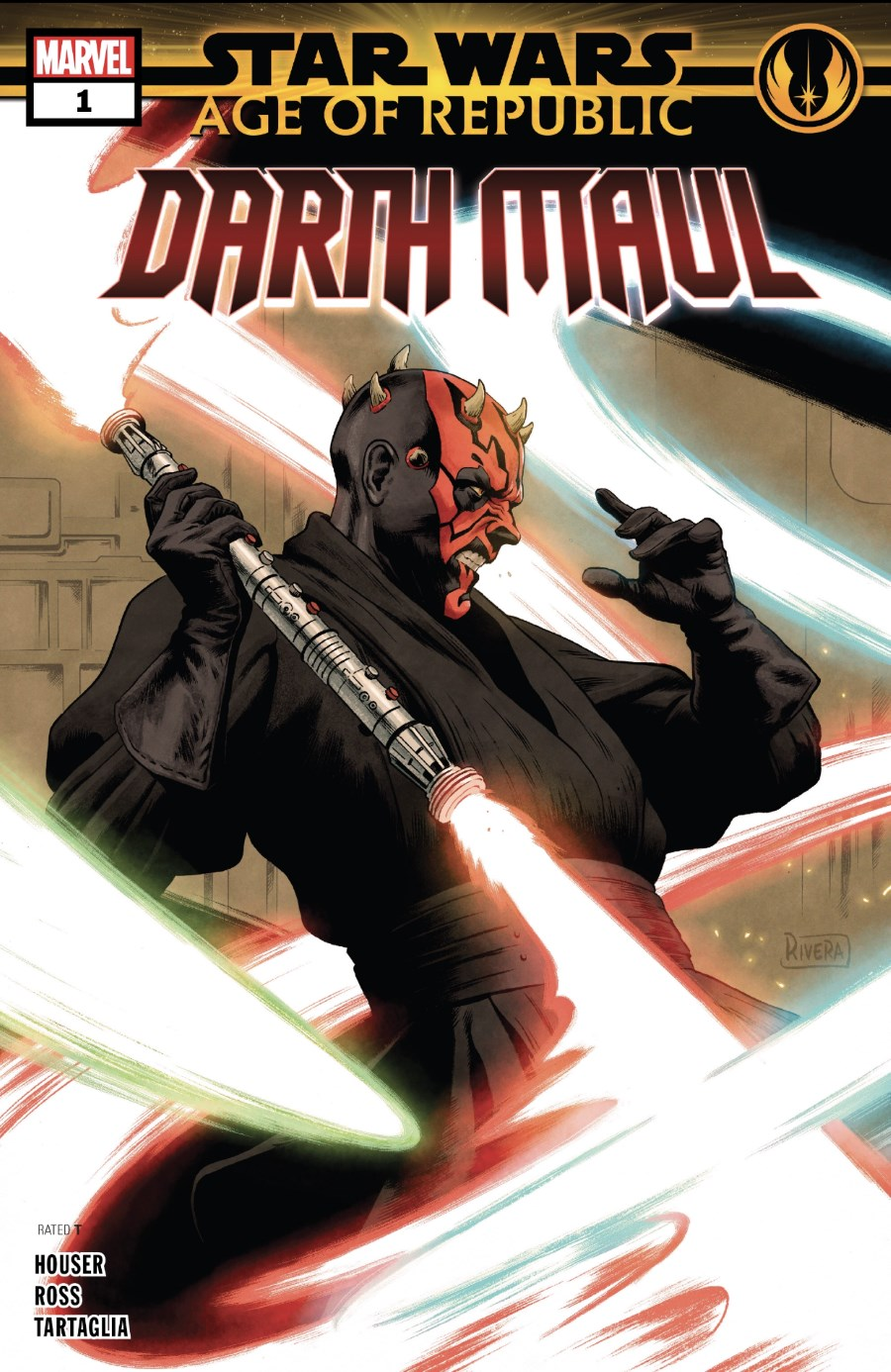 Star Wars; Age of Republic - Darth Maul #1 - Cover