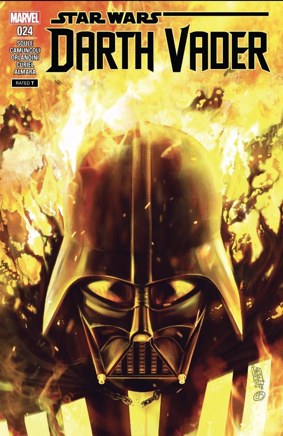 Darth Vader #24 - Fortress Vader Part VI - Cover