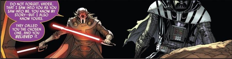 Darth Vader #24 - Momin and Vader