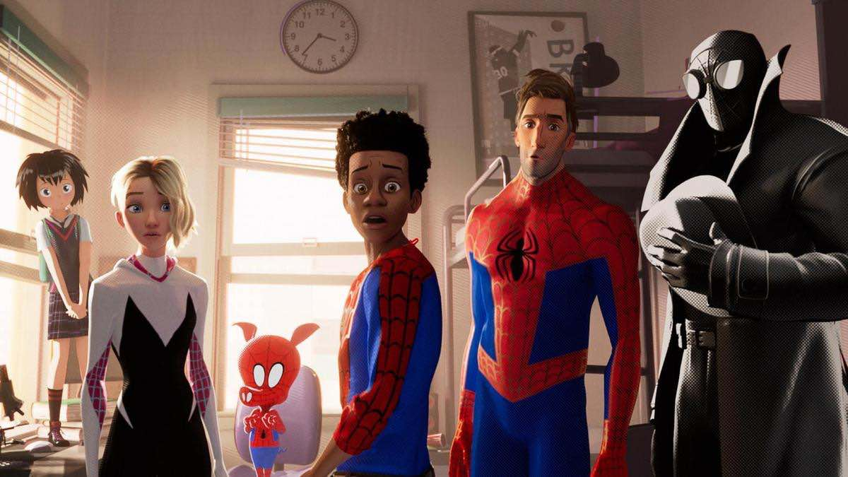 Into the Spider-Verse Great Power