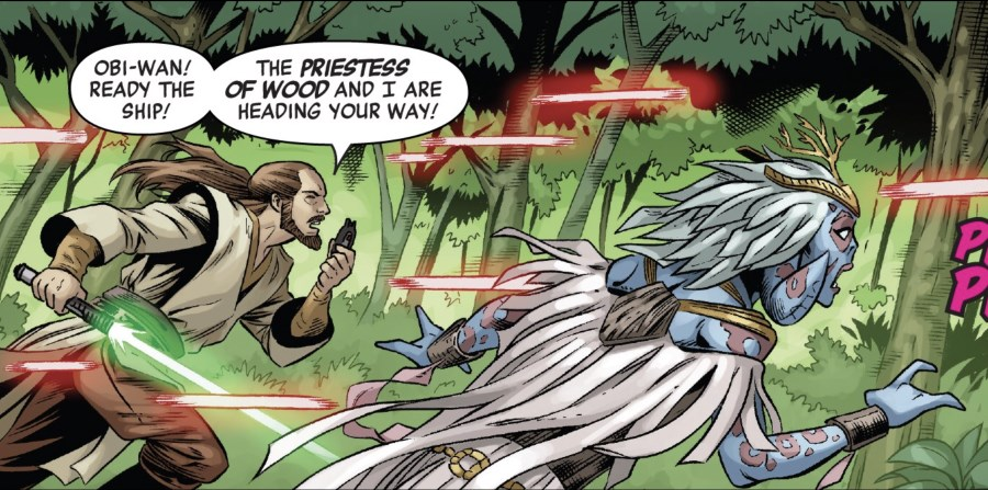 Qui-Gonn Jinn #1 - Qui-Gon and the Priestess of Wood