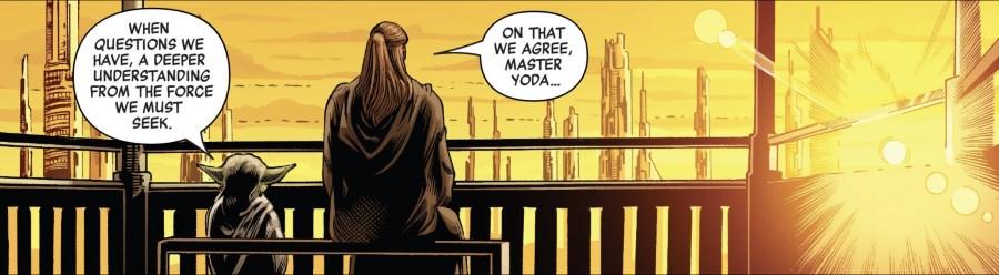 Qui-Gon Jinn #1 - Yoda and Qui-Gon