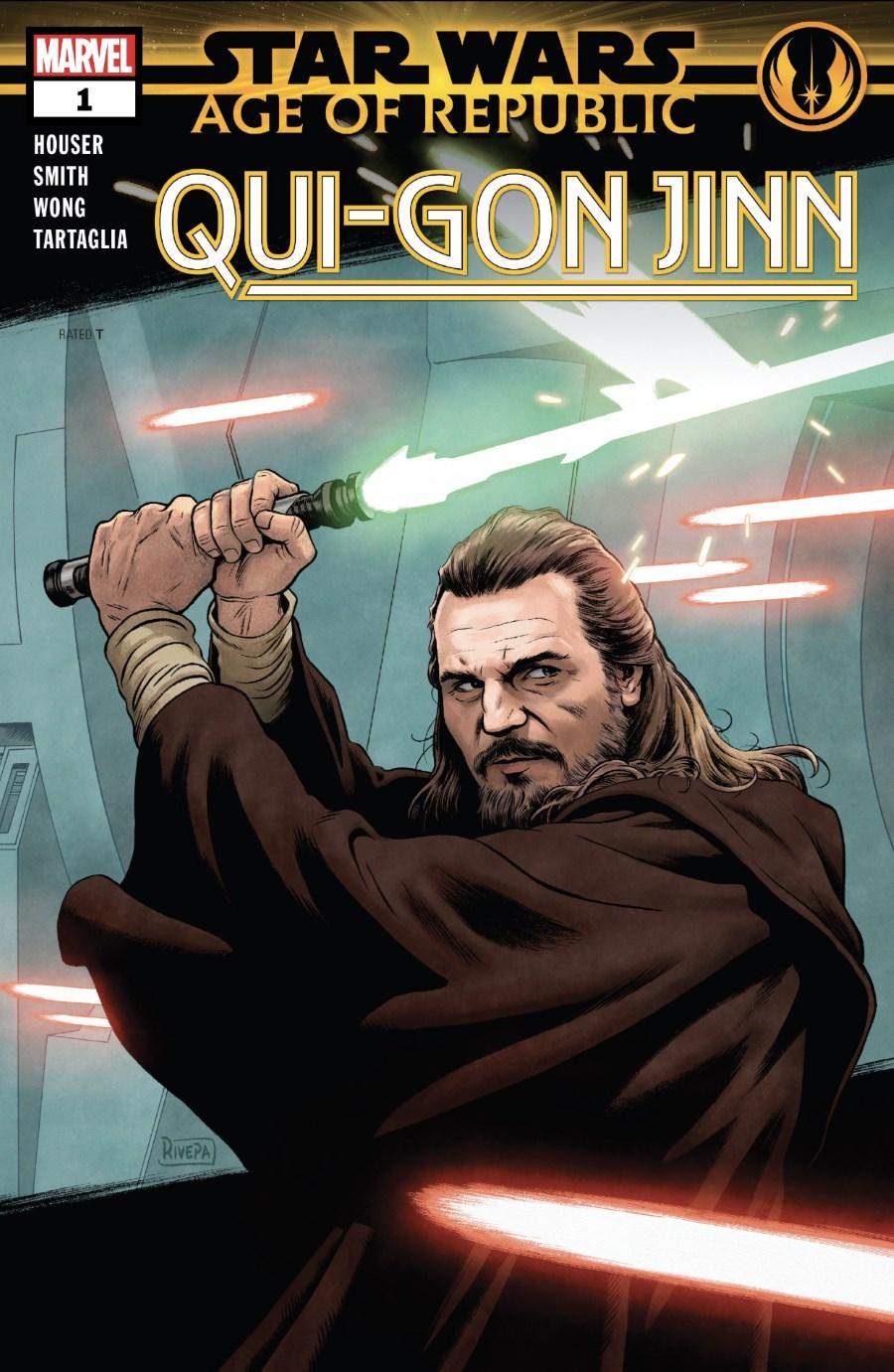 Qui-Gon Jinn #1 Cover