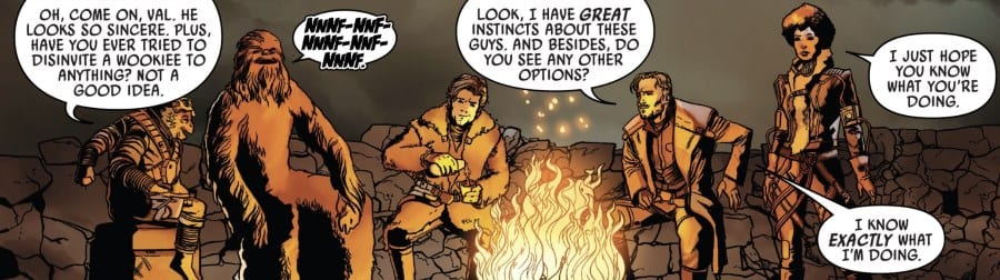 Solo #2 - the campfire