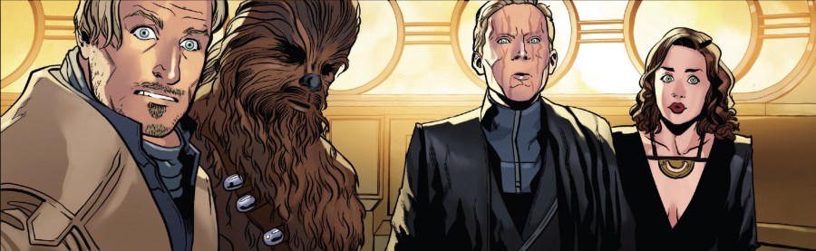 Solo #3 - Beckett, Chewbacca, Dryden, and Qi'ra
