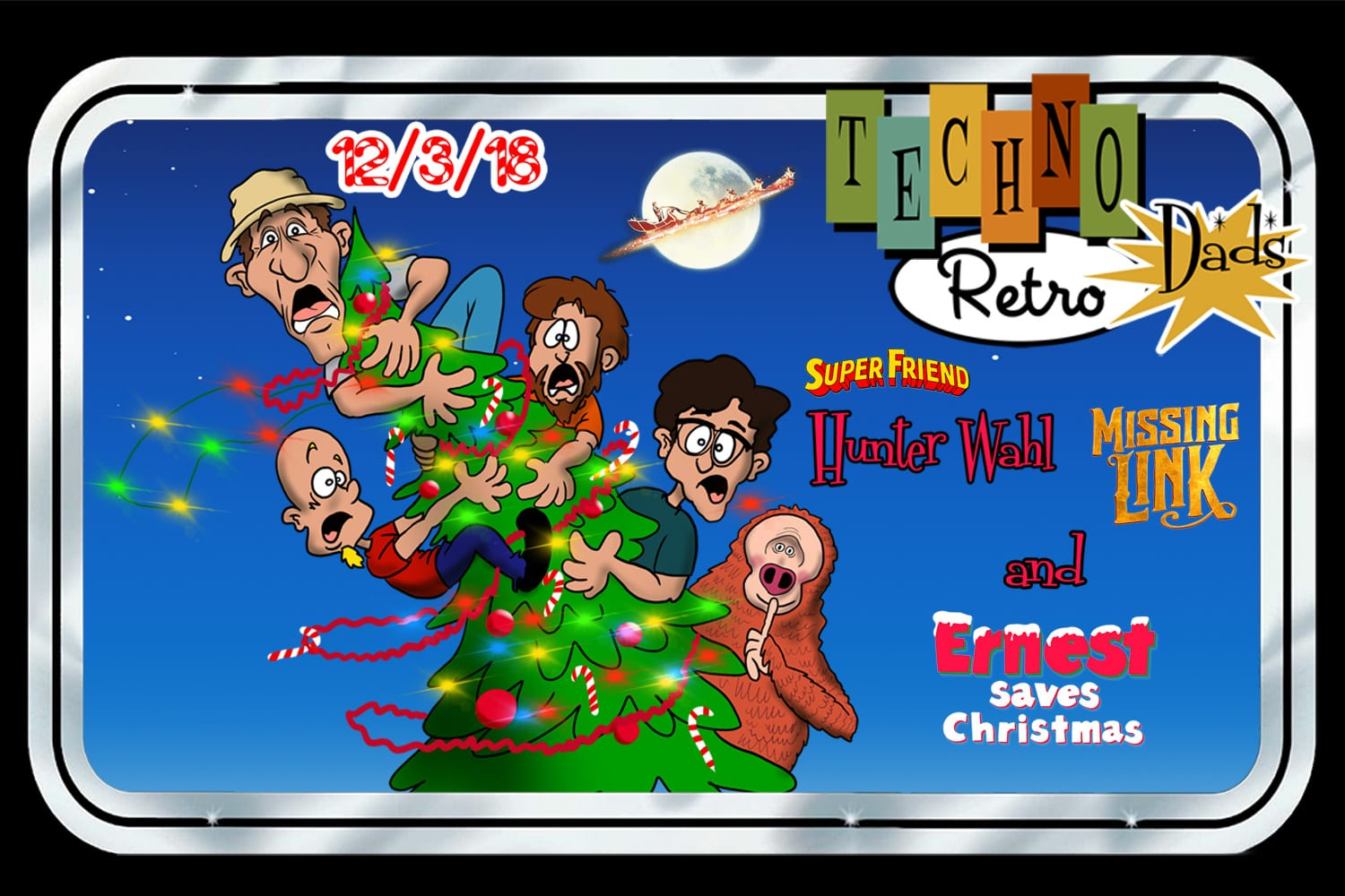 Ernest Christmas.Technoretro Dads Ernest Saves Christmas From Laika S